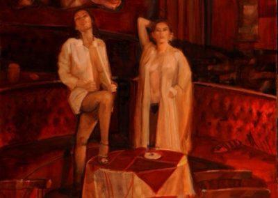 Las reinas de la noche, 100x120cm Oil on Canvas