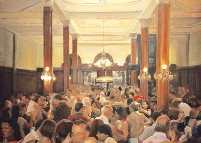 Milonga del angel,oil on canvas, 140x120cm,private collection - copia - copia