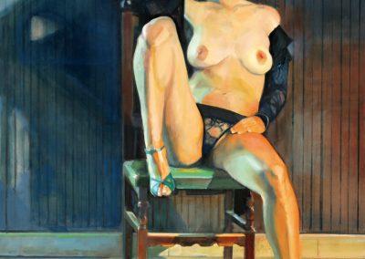 Muñeca brava , 2016,oil on canvas100x80cm