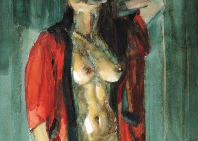 Venus, Private collection Watercolor,2016